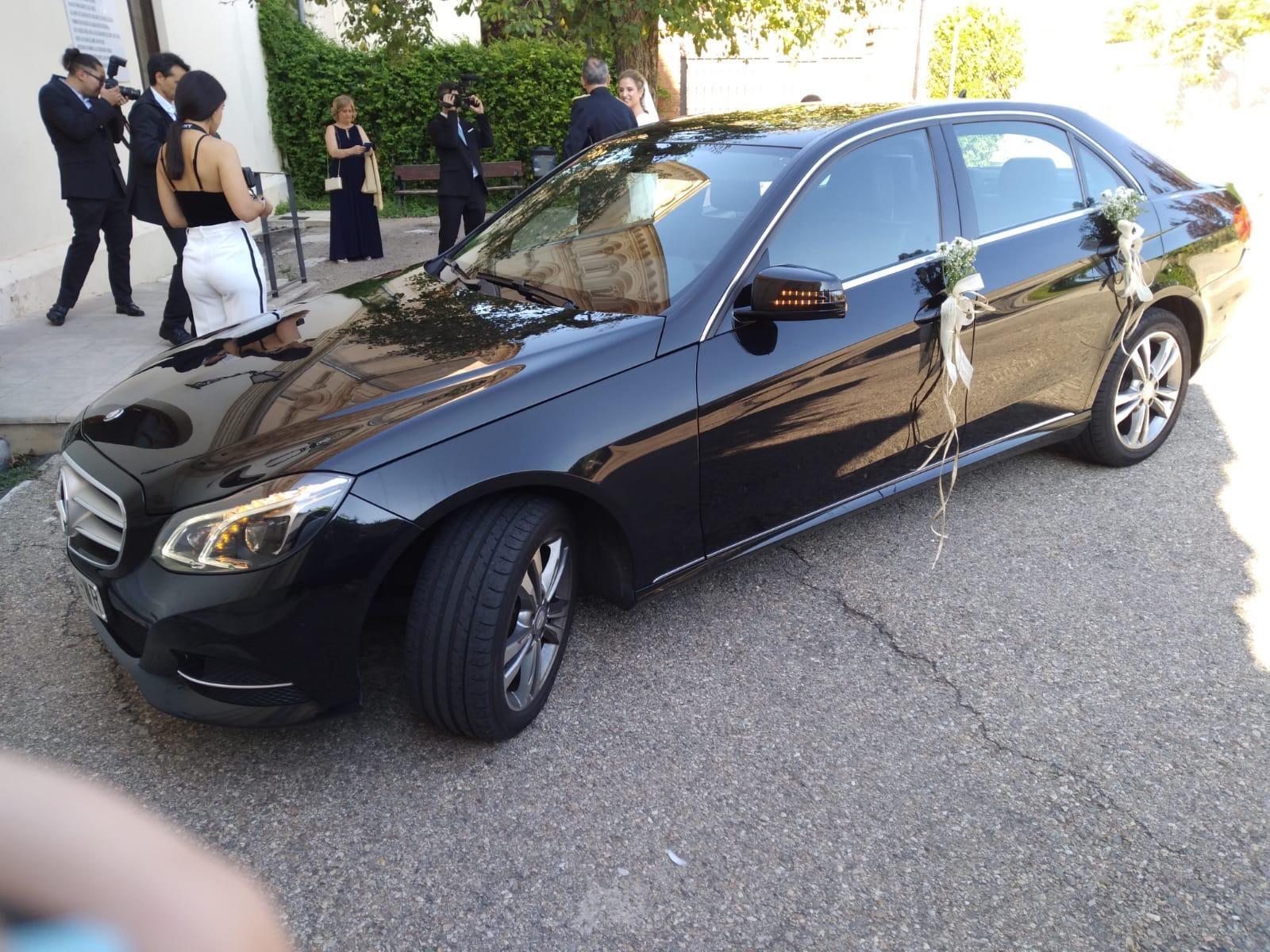 Alquiler de coches para bodas en Madrid y Guadalajara